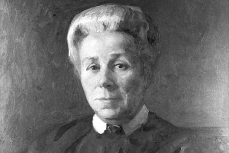 Portrait of Elizabeth Garrett Anderson. Credit: Wellcome Library, London.