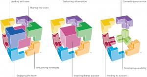 Nine dimensions of the Healthcare Leadership Model