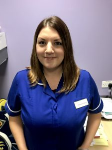 Stephanie Ferguson - Junior Sister from the cancer unit at St James University Hospital Trust