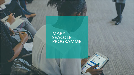 Mary Seacole programme banner